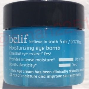 🔝5 for $25!💙Belif Moisturizing Eye Bomb NEW!